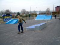 Ansicht Skateanlage